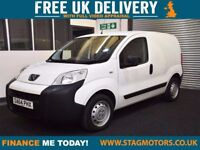 2014 (64) Peugeot Bipper 1.2 HDI S 1d 75 BHP LOW MILES - IMMACULATE