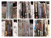 DVD's which incldes Box Sets Job Lot