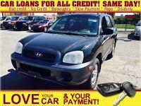 2003 Hyundai Santa Fe GL * FRESH TRADE IN * AS IS * REDUCED WA $