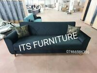 💯SUPER DEAL ! BRAND NEW ITALIAN STYLE TURKISH FABRIC SOFA BED WITH LARGE STORAGE & CUSHIONS