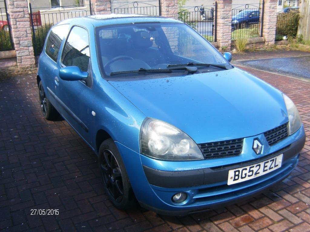 renault clio 1 2 16v dinamique 2003 42615 miles in edinburgh gumtree. Black Bedroom Furniture Sets. Home Design Ideas