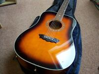 "Washburn ""augusta "" acoustic guitar"