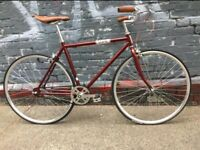 special offer vinage single speed fixed gear bike road hybrid bicycle _best for gift