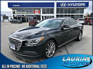2015 Hyundai Genesis 5.0L AWD Ultimate - Totally loaded