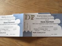 Dave Gorman show in Brighton - 2 tickets to sell!