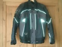 Belstaff Textiles 2 piece armoured bike jacket and trousers