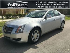 2009 Cadillac CTS Panoramic roof+Leather+Bose sound+Heated seats
