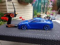 Tamiya TT01 3RACING Skyline 2.4ghz carbon fibre chassis loads of alloy hop-ups