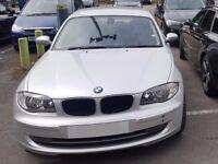 2008 58 BMW 116i ES 5 Door Manual Hatchback Silver 93.5k just serviced and MOT'd