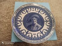 Wedgwood The Queen Mother Plate Collectible