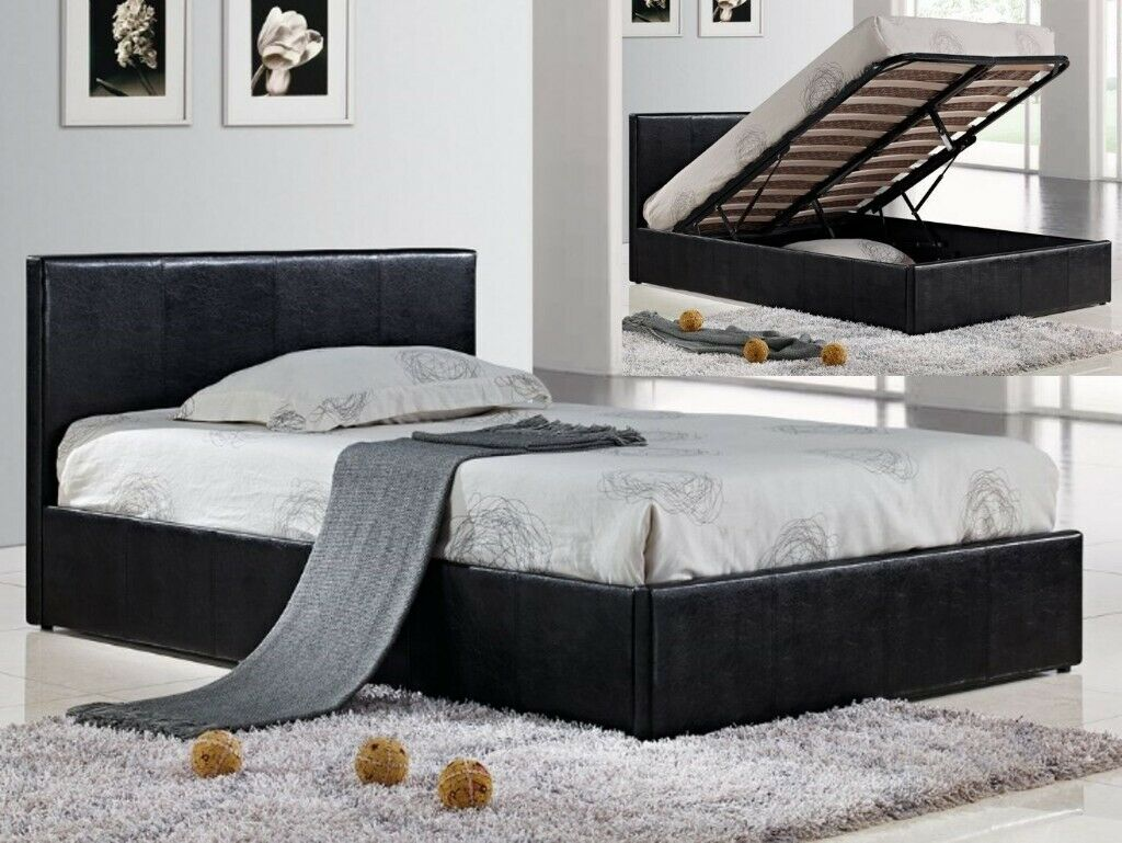 Outstanding Best Selling Brand Brand New Double And King Leather Ottoman Storage Double Bed With Mattress Range In Muswell Hill London Gumtree Pdpeps Interior Chair Design Pdpepsorg