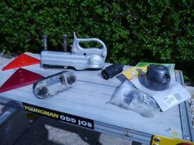 Towing hitch 50mm Cast steel construction,