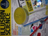 Illusion science game like new