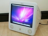 "Apple eMac - 17"", 1GHz G4, 768MB RAM, 80GB Hard Disk, SuperDrive, Mac OS X 10.5 Leopard + iLife '09"
