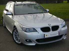 (2010) BMW 5 Series 2.0 520d M Sport Business Edition Touring 5dr **STUNNING** HUGE SPEC**FINANCE ME