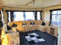 2 BEDROOM STATIC CARAVAN FOR SALE SEA VIEW PITCH READY TO MOVE IN PET FRIENDLY 12 MONTH SEASON