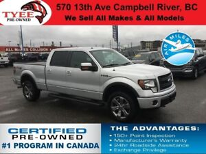 2014 Ford F-150 FX4 4x4 Rear Camera Power Sliding Rear Window