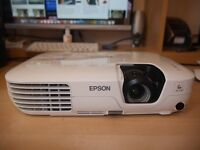 Epson Projector EB-X9, ideal for connecting to laptop for films