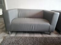 1 Grey 2 Seat Sofa - great condition