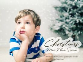 Mini Christmas photo session for kids
