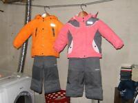 Osh Kosh snowsuits 2T