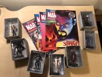 Classic Marvel Figurine Collection (43 Figures and Magazines)