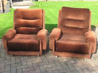 G Plan Armchairs Vintage 1975-85