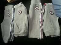 6-9 months converse tracksuits