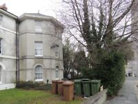 2 bed ground floor garden flat ranging over two floors. £600pm.