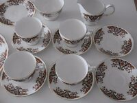 China Colclough Royale 15 pieces set