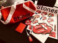 Rolling Stones VIP merchandise set