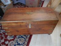 lovely characterful blanket box