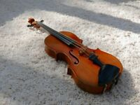 Full size circa 1930's German Stradavarian copy violin
