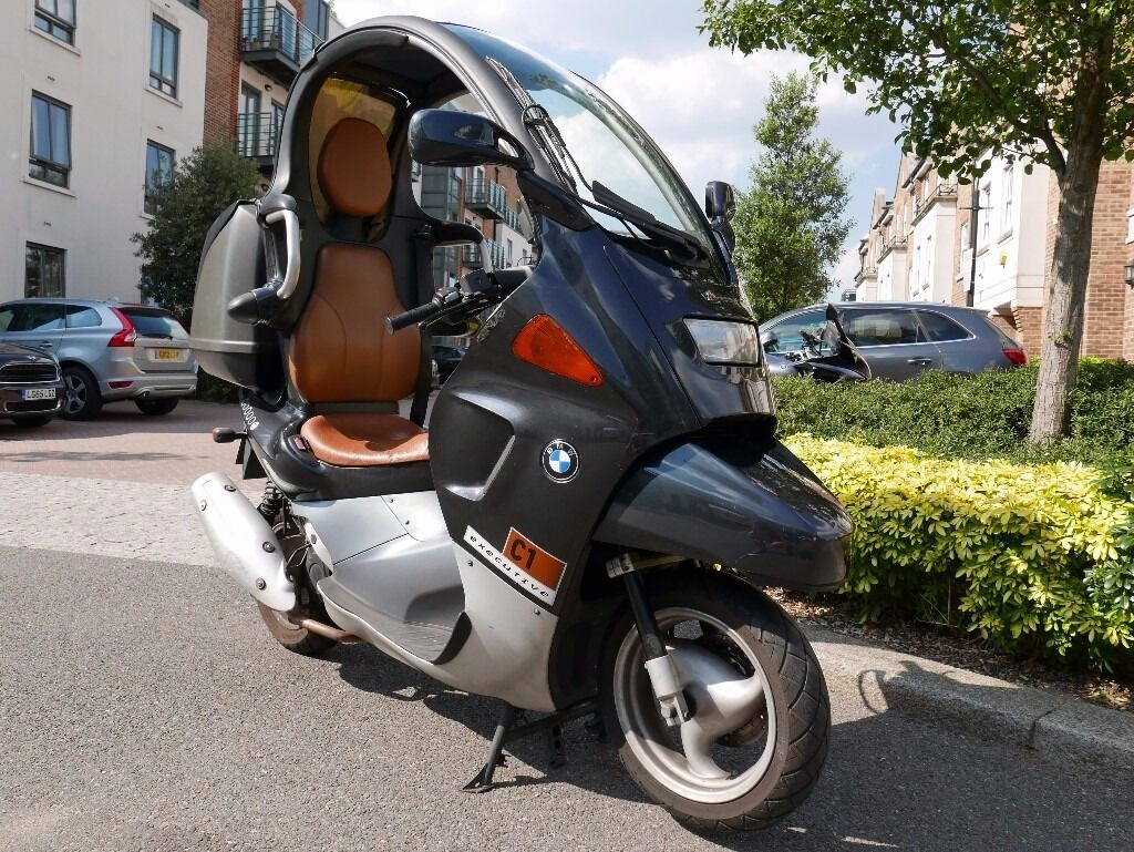bmw c1 125 executive in great condition in putney london gumtree. Black Bedroom Furniture Sets. Home Design Ideas
