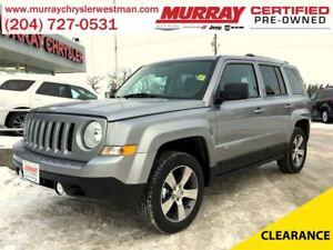 2017 Jeep Patriot High Altitude 4WD *Nav* *Heated Leather*