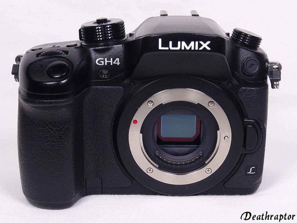 Panasonic Lumix DMC-GH4 Digital Kamera GH4 Body Gehäuse 4K Video 16,0 MP HÄNDLER
