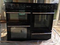 Leisure 100cm Cuisine master electric cooker RCM10CR - Black