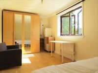 Spacious bright double room on a second floor of newly refurbished mews house.