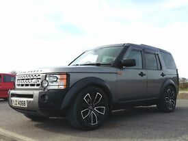 2007 Land Rover Discovery 3 TDV6 SE Auto heated leather Harman Kardon 20inch alloys satnav 7 seats
