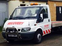 Recovery car transport sport classic car towing jump starts in North london