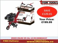 ProPlus Petrol Rotavator 5hp 2.9kw Tilling depth 260mm 4pc blade PPS060172