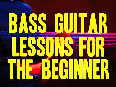Bass Guitar Lessons For The Beginner DVD. 2 Hours Of Rock, Blues & Country FUN! on Rummage