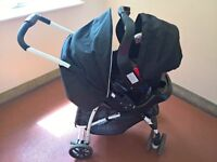 Graco zigzag stroller and carseat