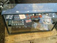 Shop display glass cabinet