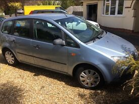 Ford Focus Cmax 1.6 2005 LOW MILAGE 61000
