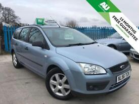 FORD FOCUS 1.6 SPORT 16V 5d AUTO 101 BHP 15 MONTHS FREE WARRANTY (blue) 2006