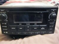 NEW SHAPE SUBARU IMPREZA WRX STI RADIO CD CLARION, 86201FJ320