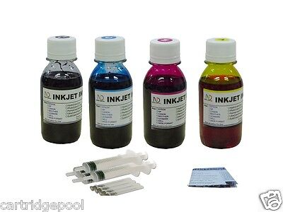 4x4oz Refill Ink For Dell T0529 T0530 720 A920