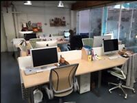 Desk space to rent in creative studio