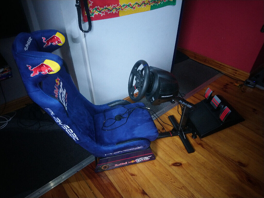 Playseat Evolution Red Bull GRC and Thrustmaster T300 RS GT Racing Wheel  PS4 PS3 PC | in Pentwyn, Cardiff | Gumtree